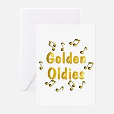 Oldies Music Greeting Cards (Pk of 20)