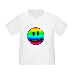 Rainbow smile T