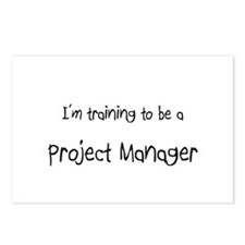 I'm training to be a Project Manager Postcards (Pa