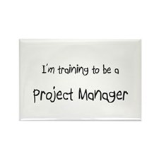 I'm training to be a Project Manager Rectangle Mag