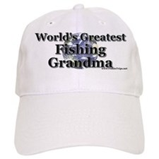 World's Greatest Fishing Grandma Baseball Cap