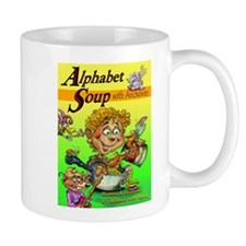 Alphabet Book Design Mug