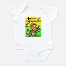 Alphabet Book Design Infant Bodysuit
