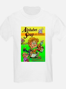 Alphabet Book Design T-Shirt