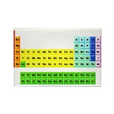 Unique Periodic table Rectangle Magnet (10 pack)
