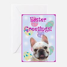 Easter French bulldog Greeting Card(Pk o