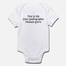 Disc Golf With Mommy Infant Bodysuit