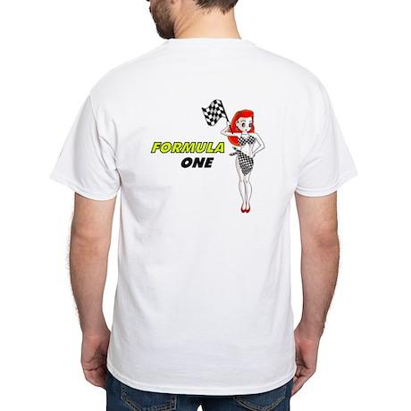 F1 White T-Shirt