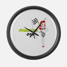 F1 Large Wall Clock