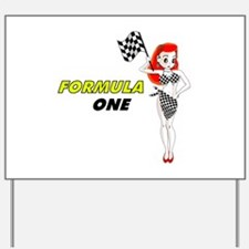 F1 Yard Sign