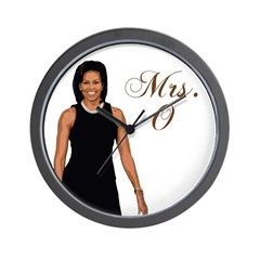 Mrs. Michelle Obama Wall Clock