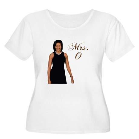 Mrs. Michelle Obama Women's Plus Size Scoop Neck T