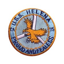 "USS HELENA (CA-75) 3.5"" Button (100 pack)"