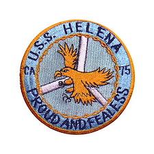 "USS HELENA (CA-75) 3.5"" Button"