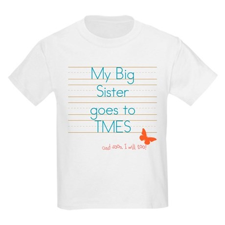 My Big Sister Kids Light T-Shirt