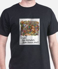 I Love the Alphabet T-Shirt