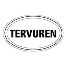 Tervuren Oval Decal