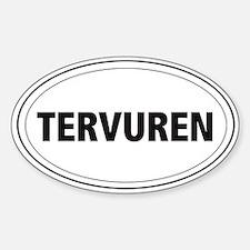 Tervuren Oval Decal