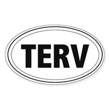 Tervuren (TERV) Oval Decal