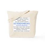 Veterinarian TheAllInOneDoctor Tote Bag