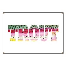Rainbow TROUT Banner