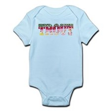 Rainbow TROUT Infant Bodysuit