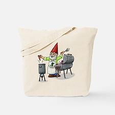 BBQ Gnome Tote Bag
