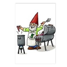 BBQ Gnome Postcards (Package of 8)