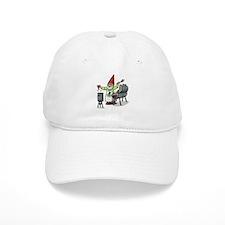 BBQ Gnome Baseball Cap