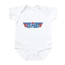 Co Pilot Wings Infant Bodysuit
