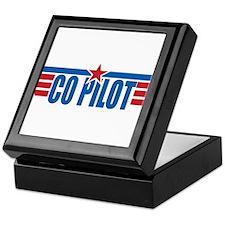 Co Pilot Wings Keepsake Box