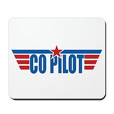 Co Pilot Wings Mousepad