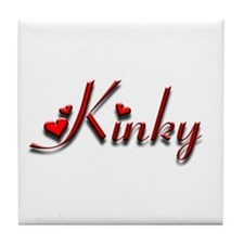 Kinky Gear Tile Coaster