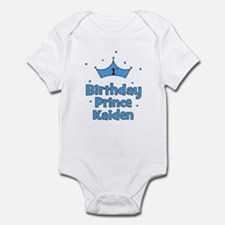 1st Birthday Prince Kaiden! Infant Bodysuit