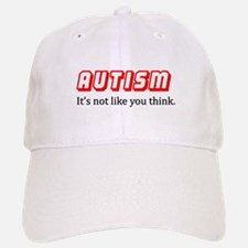 Autism Not Like U Think Baseball Baseball Cap