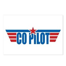Co Pilot Wings Postcards (Package of 8)