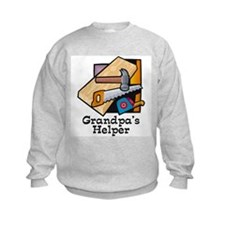 Grandpa's Helper (Carpentry) Sweatshirt