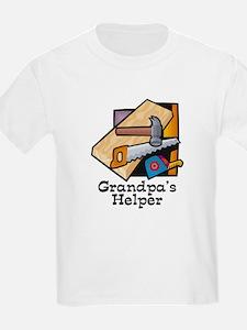 Grandpa's Helper (Carpentry) T-Shirt