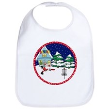 Santa Disc Golf Christmas Bib