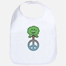 Tree Hugs for Peace Bib