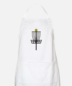 Disc Golf Hole BBQ Apron