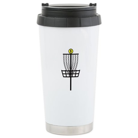 Disc Golf Hole Stainless Steel Travel Mug