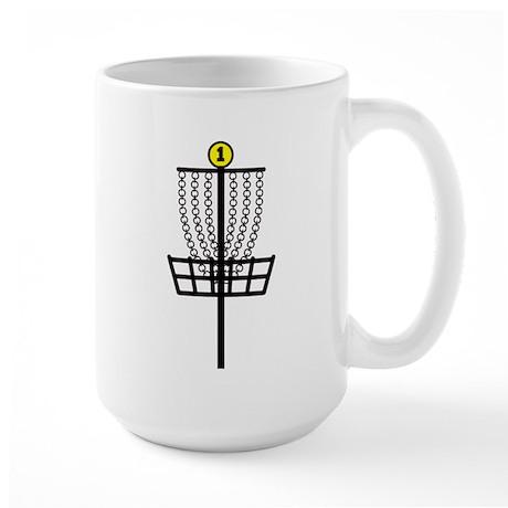 Disc Golf Hole Large Mug