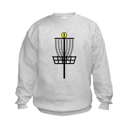 Disc Golf Hole Kids Sweatshirt