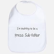 I'm training to be a Press Sub-Editor Bib