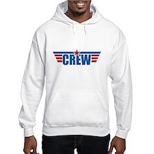 Aviation Crew Wings Hoodie
