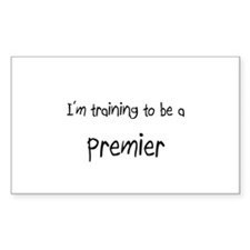 I'm training to be a Premier Rectangle Decal
