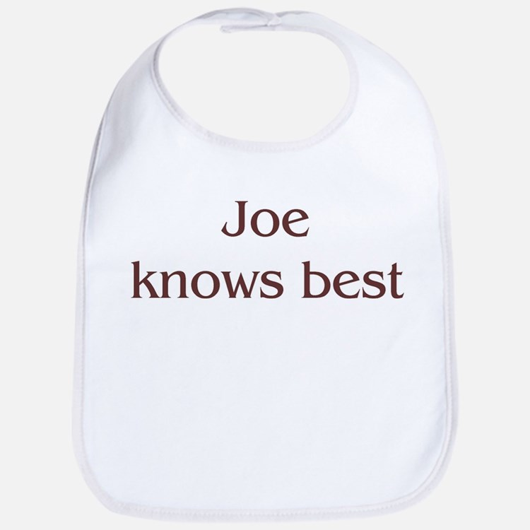 Personalized Joe Bib