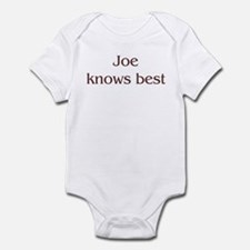 Personalized Joe Infant Bodysuit