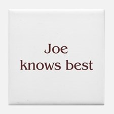 Personalized Joe Tile Coaster